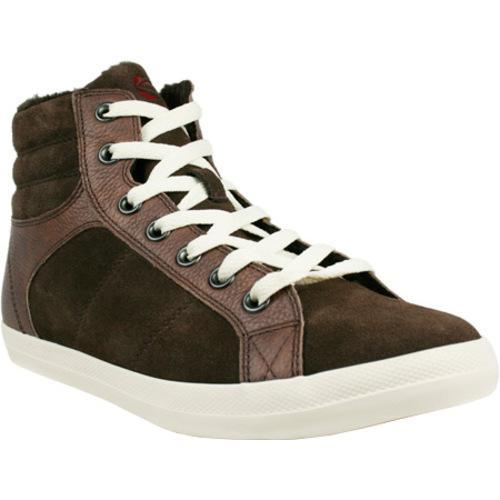 Men's Burnetie High Top BB Leather Chocolate