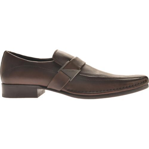 Men's Kenneth Cole New York Run Around Brown Leather - Thumbnail 1