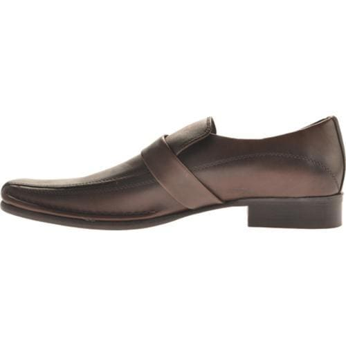 Men's Kenneth Cole New York Run Around Brown Leather - Thumbnail 2