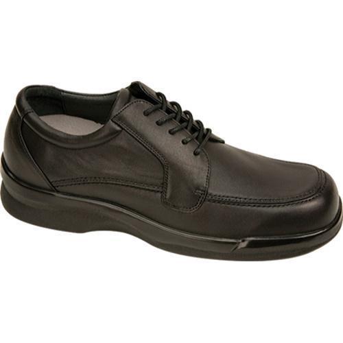 Men's Apex Ambulator Biomechanical Moc Toe Oxford Black Leather