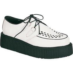 Men's Demonia Creeper 402 White Leather (More options available)