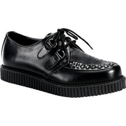 Men's Demonia Creeper 602 Black Leather