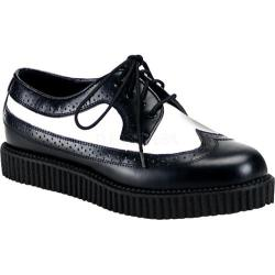 Men's Demonia Creeper 608 Black/White Leather