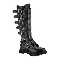 Men's Demonia Reaper 30 Black Leather