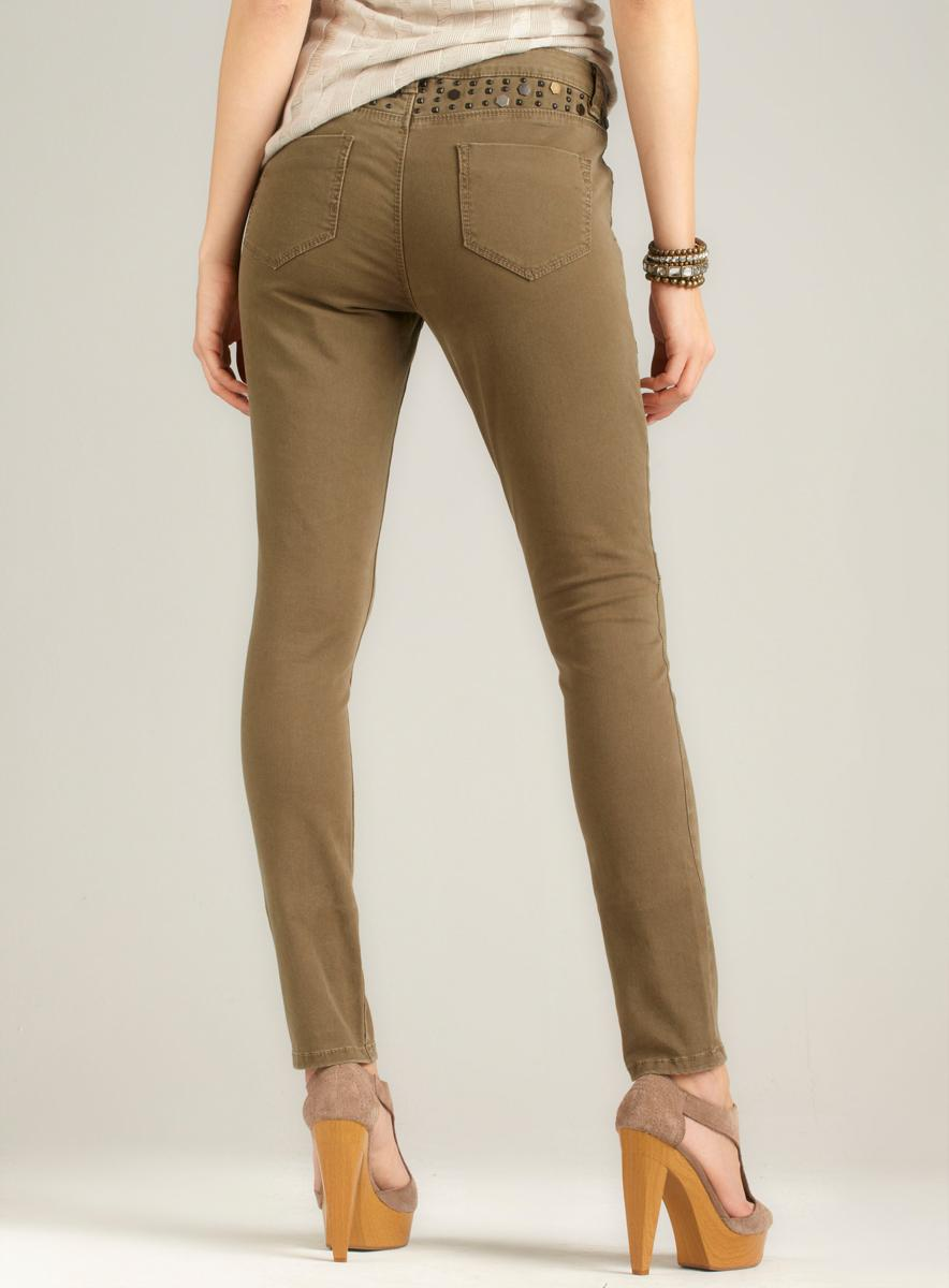 BCBGeneration Studded Skinny Jean