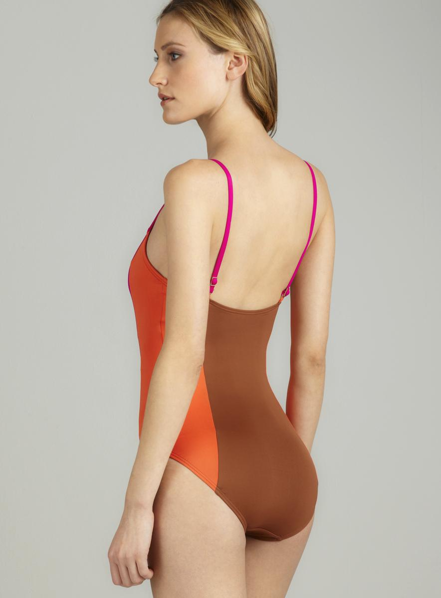 DKNY Punch Line Lingerie Maillot - Thumbnail 1