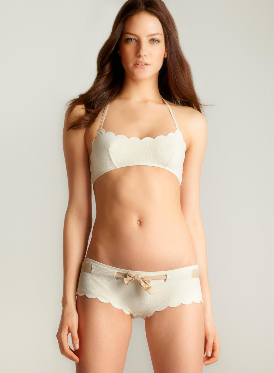 Chloe Scalloped Two-piece Bikini