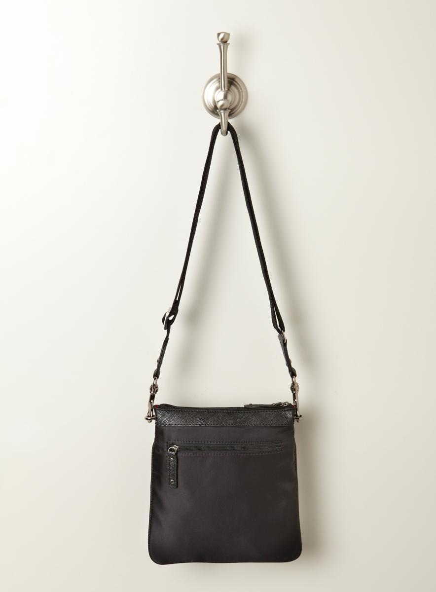 SR Squared Quilted Messenger Bag
