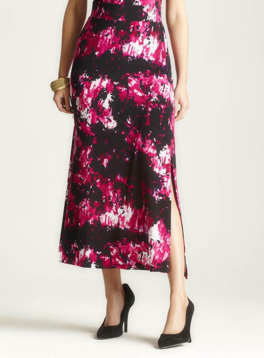 Philosophy Printed Maxi Skirt