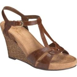 Women's A2 by Aerosoles Plush Fever Mid Brown Combo