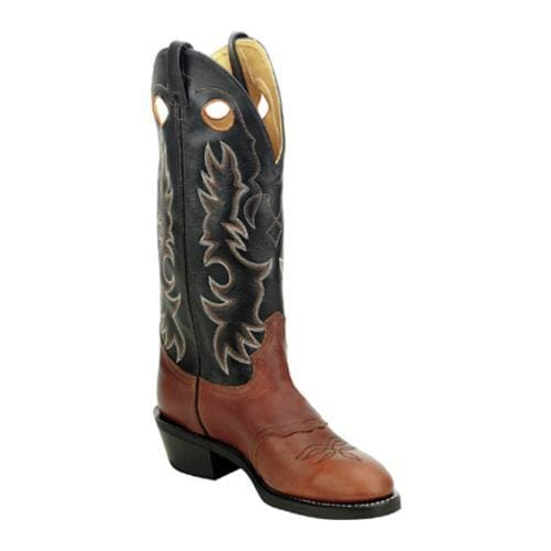 Men's Laredo Buckaroo 15 Brown Oily/Black