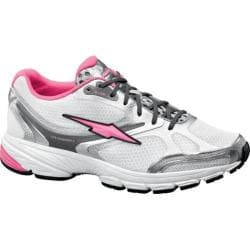 Women's Avia A2141W White/Chrome Silver/Atomic Pink
