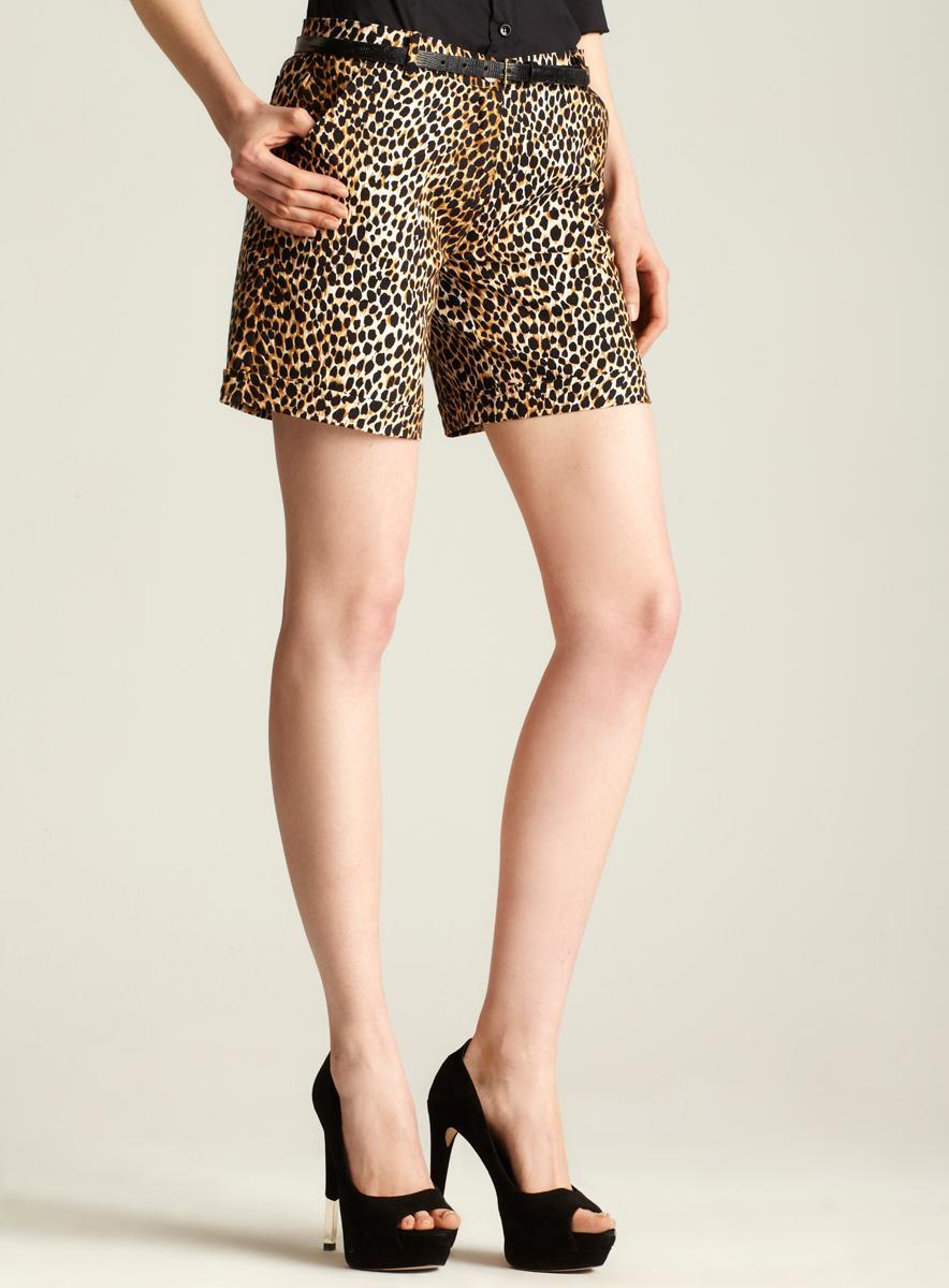 D&G Beachwear Leopard Print Short