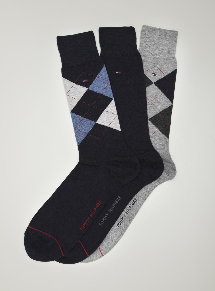 Tommy Hilfiger 3-pack Argyle Socks