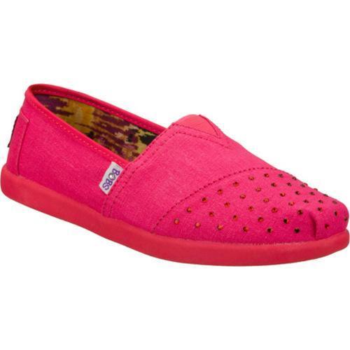 Girls' Skechers BOBS World Fit N Fancy Pink
