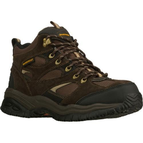 Men's Skechers Work Soft Stride Hemi Brown