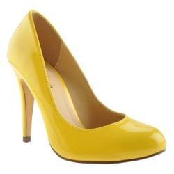 Women's Michael Antonio Lydia Yellow Patent