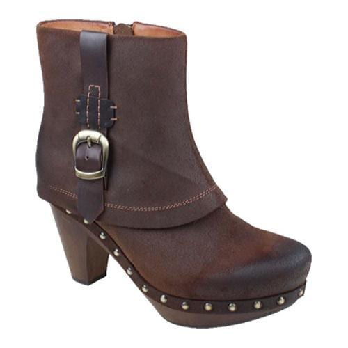 Women's Earthies Lacarne Dark Brown Suede - Thumbnail 0
