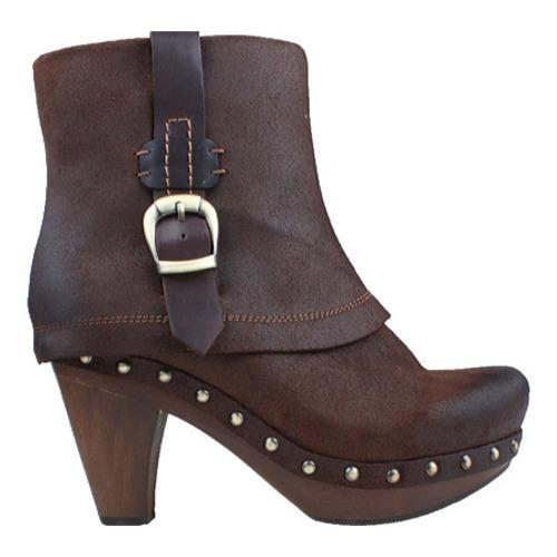Women's Earthies Lacarne Dark Brown Suede - Thumbnail 1