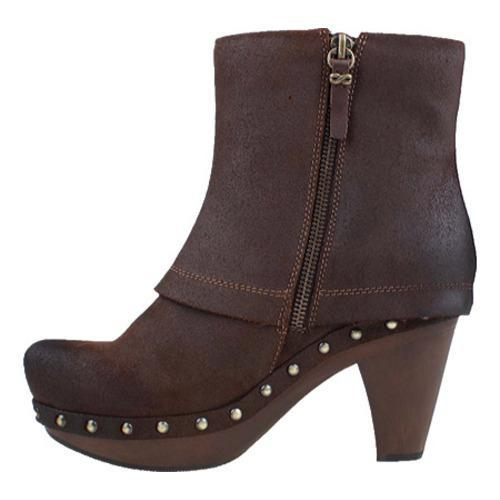 Women's Earthies Lacarne Dark Brown Suede - Thumbnail 2