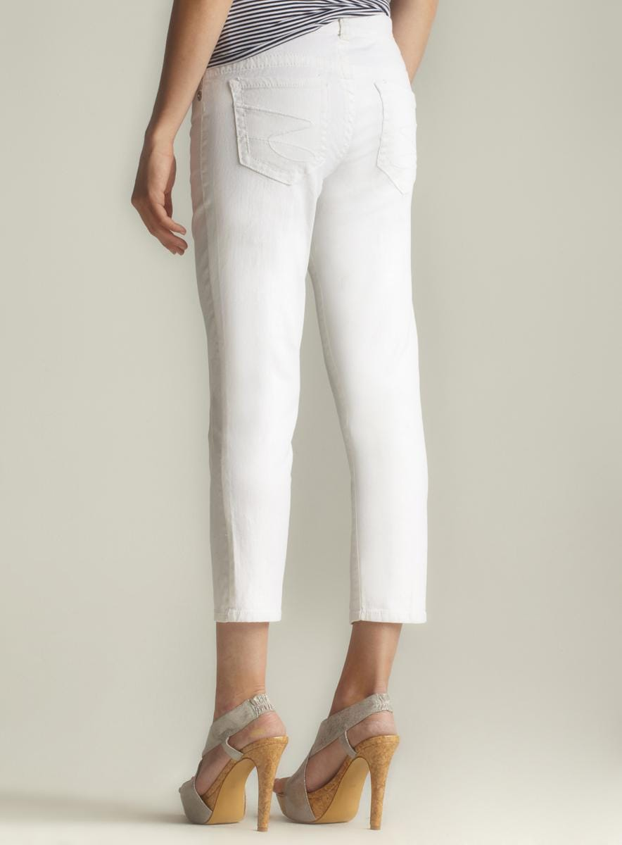 Seven7 Cropped Skinny Jeans - Thumbnail 1