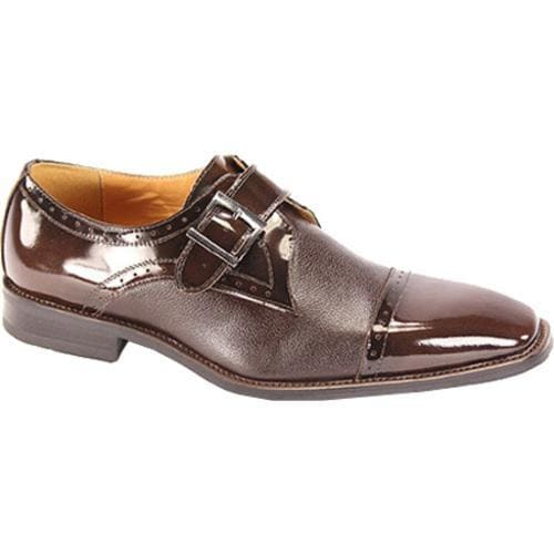 Men's Giorgio Venturi 6298 Chocolate Brown Polished Leather