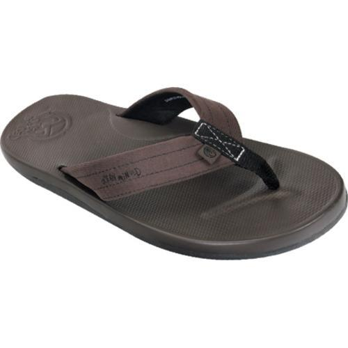 Men's Ocean Minded by Crocs Waveseeker Flip-Flop Espresso/Brown