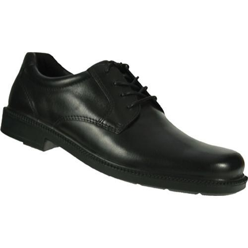 Men's Spring Step Chad Black Leather