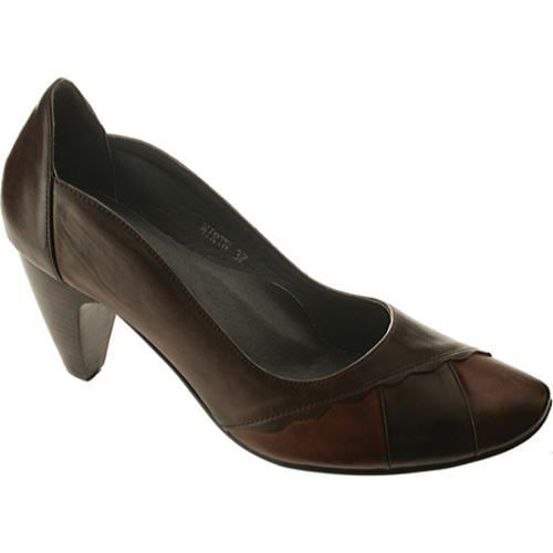Women's Spring Step Mirth Brown Multi Leather