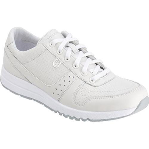 Women's Rockport Zana Walking Sneaker Winter White Leather