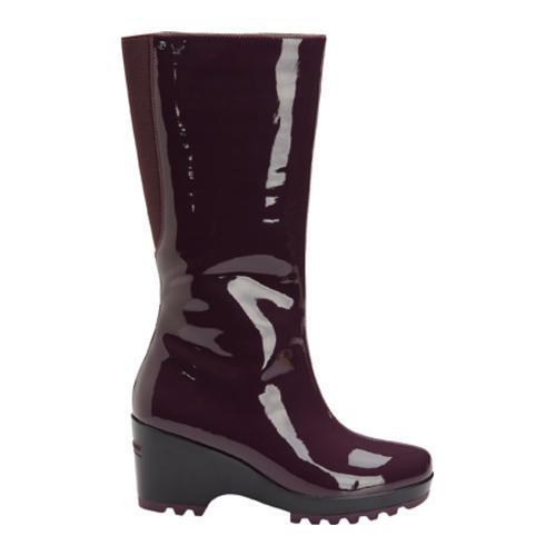 Women's Rockport Lorraine Rainboot 3 Beet Waterproof Leather - Thumbnail 1