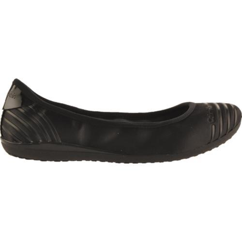 Women's Calvin Klein Romie Black Satin/Patent Leather