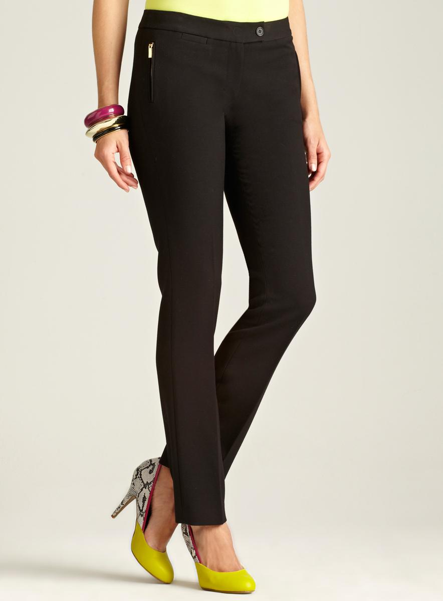 Tahari Zip Pocket Pant
