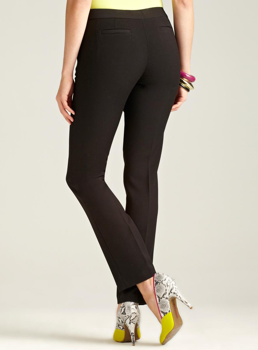 Tahari Zip Pocket Pant - Thumbnail 1
