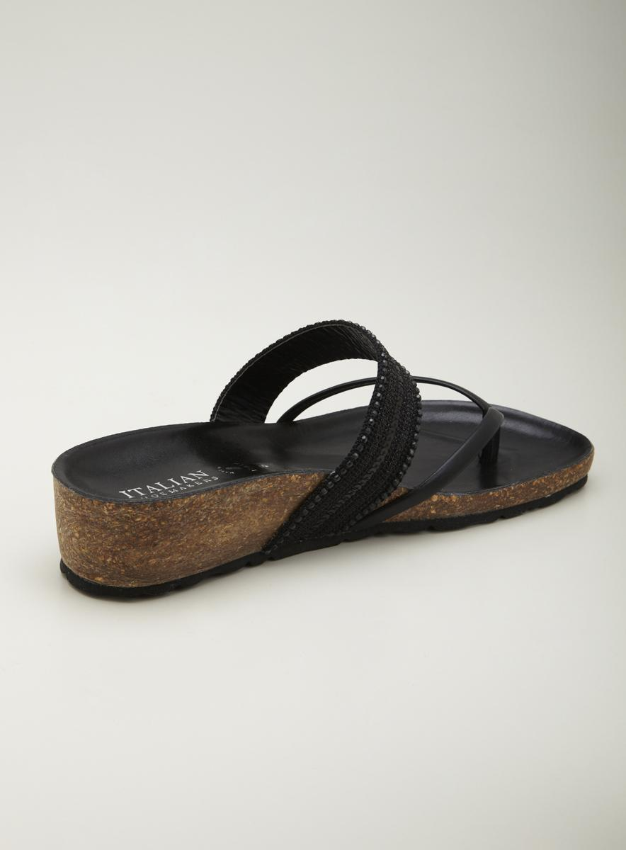 Italian Shoemakers Thong Sandal - Thumbnail 1