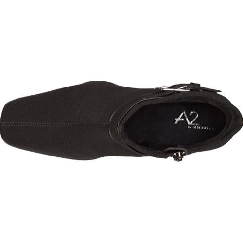 Women's A2 by Aerosoles Cinch Of Luck Black Fabric/Synthetic