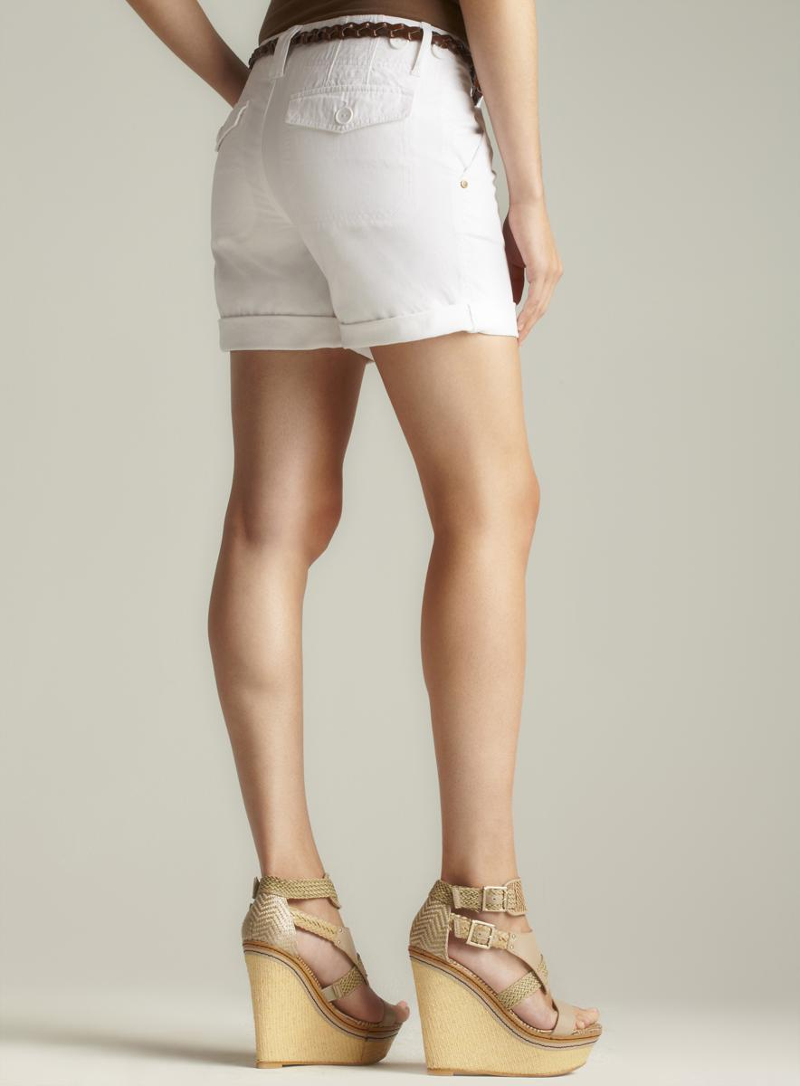 Sanctuary Cuffed Belted Shorts