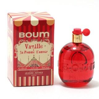 Jeanne Arthes Boum Vanille Pomme DAmour Women's 3.4-ounce Eau de Parfum Spray