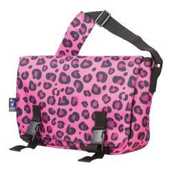 Wildkin Pink Leopard 15 Inch x 10 Inch Messenger Bag