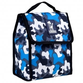 Wildkin Blue Camo Lunch Bag