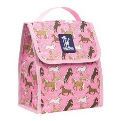 Wildkin Horses in Pink Munch 'n Lunch Bag