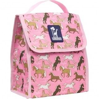 Wildkin Horses in Pink Lunch Bag