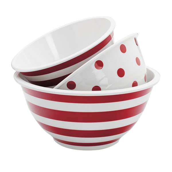 Decorative.Melamine Mixing Bowls (Set of 3)