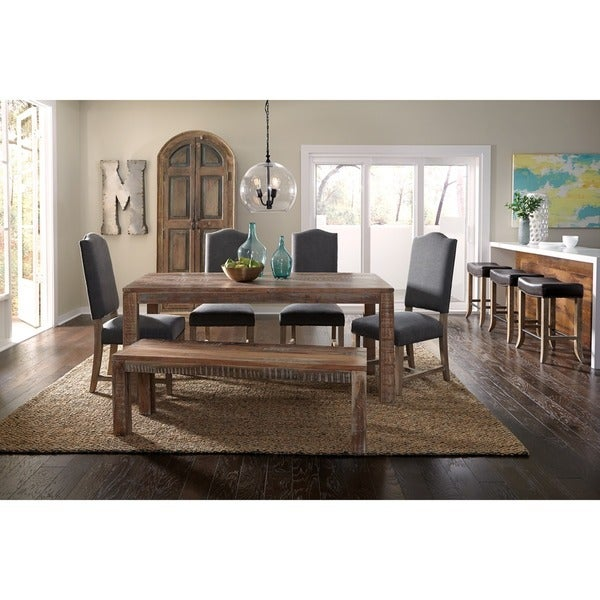 Hamshire Reclaimed Wood 70-inch Bench by Kosas Home