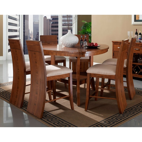 7 Piece Counter Height Dining Room Sets: Shop Somerton Dwelling Milan 7-piece Counter Height Dining