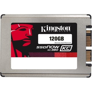 "Kingston SSDNow KC380 120 GB 1.8"" Internal Solid State Drive"