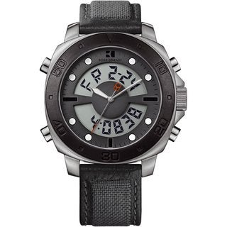 BOSS ORANGE Men's Analog Digital Fabric Watch