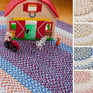 Penelope Braided Reversible Rug USA MADE - 8' x 10' (4 options available)