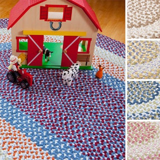 Penelope Braided Reversible Rug USA MADE - 6' x 9'