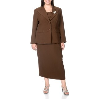 Giovanna Signature Women's Plus Size 2-button Mock 3-piece Skirt Suit|https://ak1.ostkcdn.com/images/products/8101571/P15451708.jpg?_ostk_perf_=percv&impolicy=medium